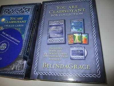 You are Clairvoyant Box Set Developing the Secret Skill We All Have Book CD Card