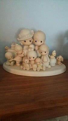 Precious Moments God Bless Our Years Together Figurine