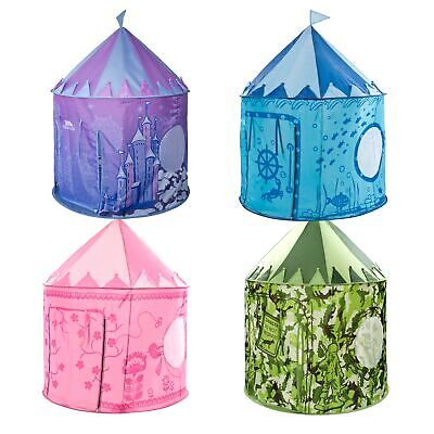Trespass Chateau Castle Pop Up Play Indoor Outdoor Tent for Kids