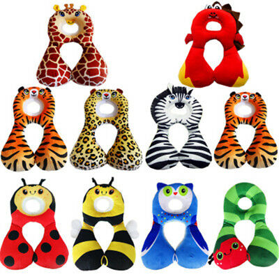 Baby Kids Head Neck Support Protect U Pillow Headrest Travel Car Seat Cushion