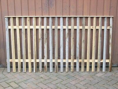 WOOD FENCING PANELS 180 x 95 cms - CHEAP
