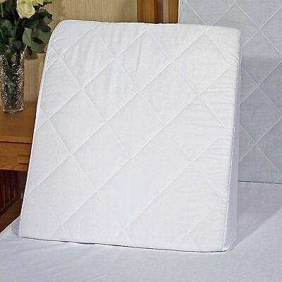 Comfortnights Bed Wedge With Washable,quilted Poly Cotton Cover