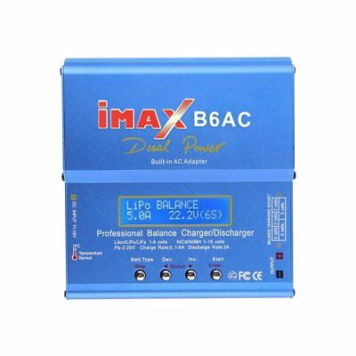 Blue iMAX B6 AC B 6AC Lipo NiMH 3S RC Battery Balance Charger of RC hobby XH