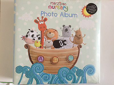 Marzipan Noah's Ark Photo Album Holds 100, 6 by 4 inch photos New Baby Gift