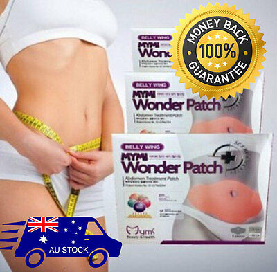 NEW 5x Mymi Wonder Patch Belly Slim Abdomen Treatment Slimming Fat Burn Loss