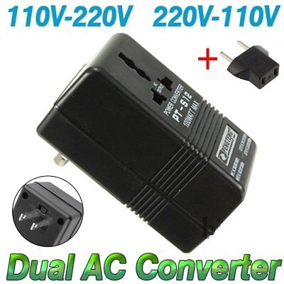 100W Converter Adapter AC 110V/120V to 220V/240V Up Down Volt Transformer + EUYL