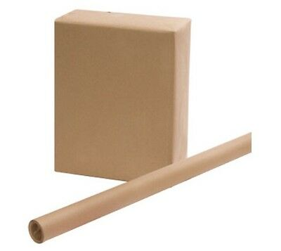 """2 ROLLS USPS APPROVED SHIPPING WRAPPING BROWN PAPER ROLLS 30"""" x 15'"""