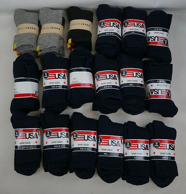 (Wholesale Lot of 110 Pairs) Specialized Athletic Crew Socks