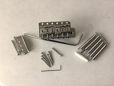 Fender USA '57/62 Reissue tremolo with upgrade Titanium block