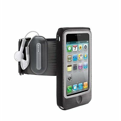 Belkin iPod Touch 4th Generation FastFit Sports Running Armband Case Cover Black