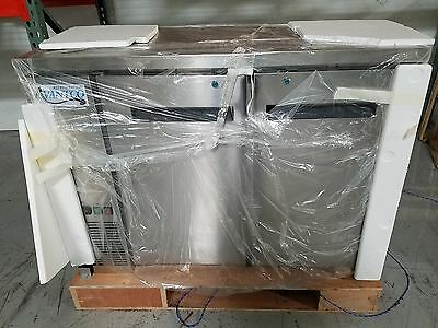 NEW AVANTCO 9133200047 2 Door MODEL 178UDD48HCS Beer Dispenser Keg Kegerator