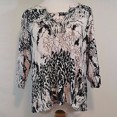 Christopher & Banks Women's Embellished Top ~ Size​ XL