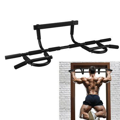 Body Home Gym Door Bar Chin Up Pull Up Bars Sit Up Dips Power Exercise Fitness