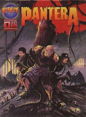PANTERA: THE COMIC BOOK #1 [Mike Carey, Trevor Goring]