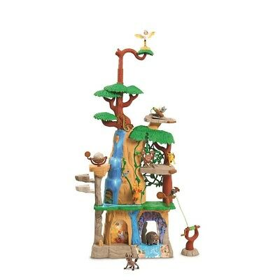 The Disney Lion Guard Training Lair Play Set 3 Foot Tall 15 Features Zipline