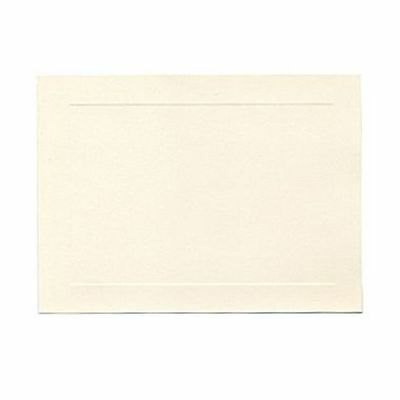 JAM Paper® brand Blank Note Cards, 5 x 7, Opaque Natural White, 100/pk (97175)