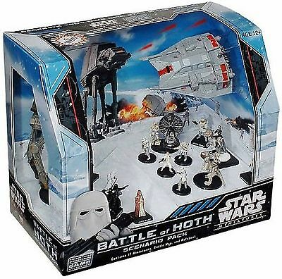 Star Wars Miniatures Battle of Hoth Scenario Pack NEW SEALED