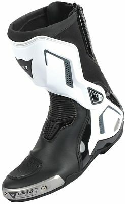 Dainese Torque Out D1 Mens Boots Black/White/Anthracite Gray 44 Euro/11 USA
