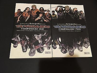 The Walking Dead Compendium Volumes 1 & 2! NEVER READ! VF/NM! 1st 96 issues!