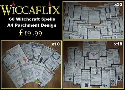 WICCAFLIX WITCHCRAFT WICCA Gift Set Chest Box Tealight
