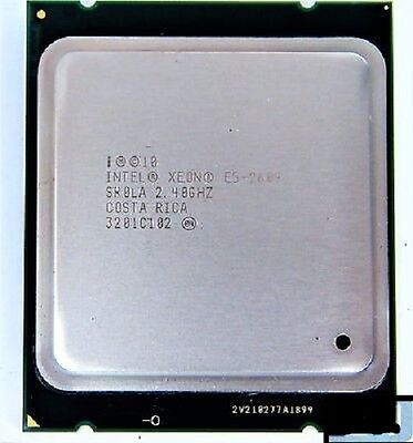 MATCHED PAIR INTEL XEON E5-2609 QUAD CORE 2.4 GHz CPU SR0LA