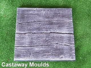 Log Railway Sleeper Paver Mould - Stepping Stone Cement Concrete Landscaping