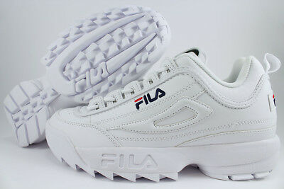 Fila Disruptor Ii 2 White/peacoat Blue/red Cross-Training Trainer Us Mens Sizes