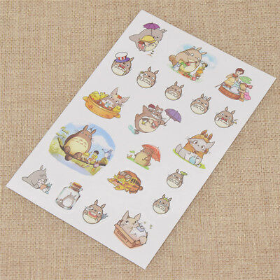 Stationery Decor Sticky Scrapbooking Mobile Phone Anime Stickers Album Cards