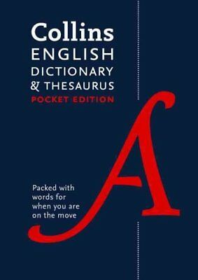 Collins English Dictionary and Thesaurus Pocket edition All-In-... 9780008141790