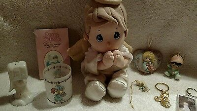 Precious Moments Assorted items Lot of 9