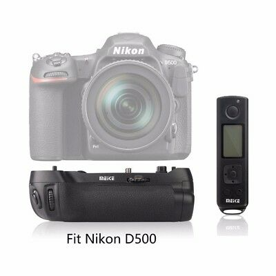 Meike MK-D500 Pro 2.4G Wireless Remote Control Battery Grip for Nikon D500