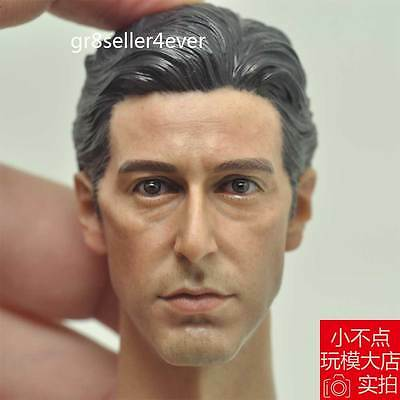 1/6 Scale The God Father Young Al Pacino Head Sculpt For Hot Toys Figure Body