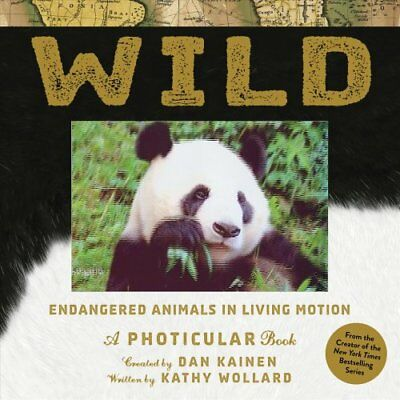 Wild A Photicular Book by Dan Kainen 9781523501472 (Hardback, 2017)