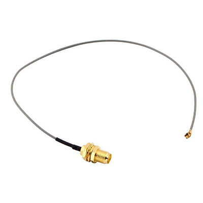 U.FL IPX to RP-SMA female RF Pigtail Cable Jumper for PCI Wifi Card SB