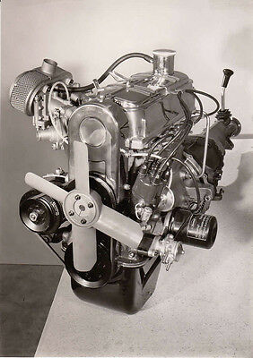 Glas 1300 Gt Engine Period Photograph.