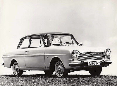 Ford Taunus 12M L.h.d. Two Door Saloon, Period Photograph.