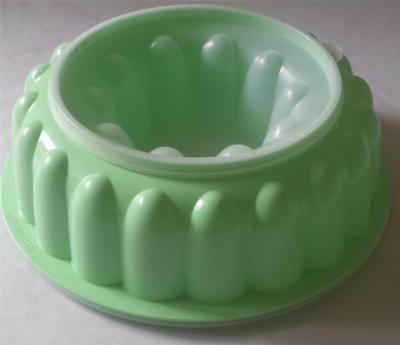 Vintage 60s - 70s Tupperware 3 Piece JADITE GREEN Jelly Mould in Great Condition