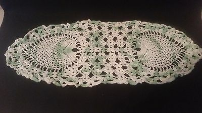 Vintage Hand Crocheted Doily - Antique Doilies Hot Cozy