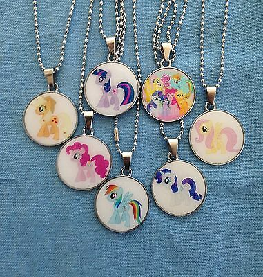 My Little Pony Round Pendant Necklace