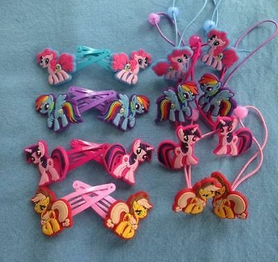 My Little Pony Girls Hair Clips Birthday Gift