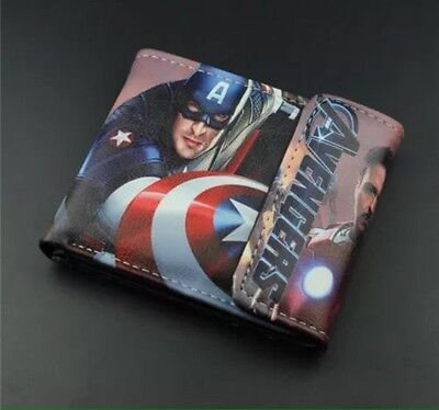 The Avengers Wallet Cosplay Anime