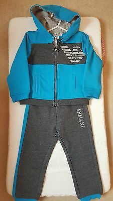 *** Armani Tracksuit (Bottoms + Hoody) 18 Months, Brand New With Tags ***