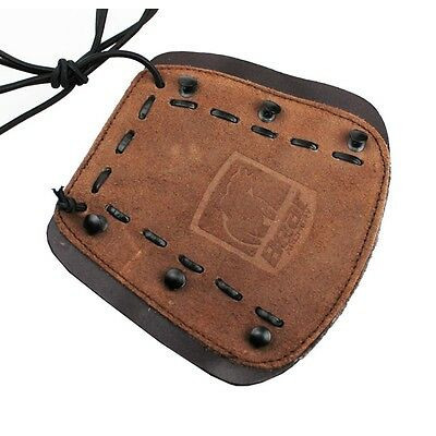 Bear Archery Traditional Leather Armguard - Adjustable Stretch Cords