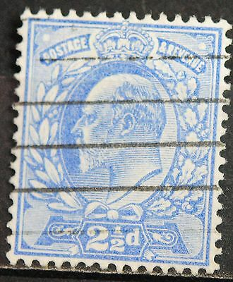 Great Britain Stamps SC#131  Used EVII 2 1/2  p Ultra