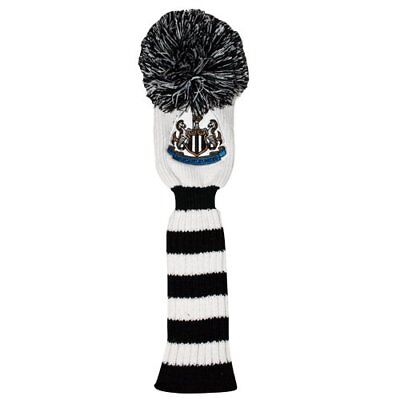 Newcastle United Headcover Pompom - Funda creativa para palos de golf, color ne