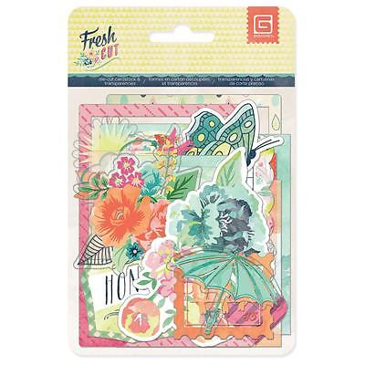BasicGrey  Fresh Cut Cardstock Die-Cuts & Transparencies