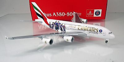 "Herpa Wings 529440 Emirates Airbus A380 ""Paris St. Germain"" ""A6-EOT"" Scale 1/500"