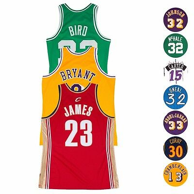 NBA Authentic On-Court Throwback Jersey Collection by Mitchell & Ness Men's