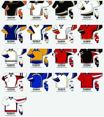 TEAM SET/LOT of 12 Hockey Jerseys Athletic Knit NHL Style