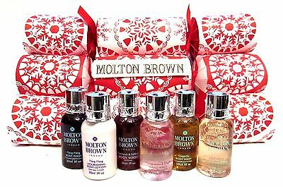 Molton Brown Luxury Celebration Christmas Crackers Pack Of 6 (New 2017) Cc6